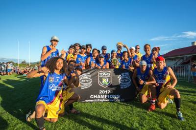 Our NZTFI National Champions 2017 - Porirua U16