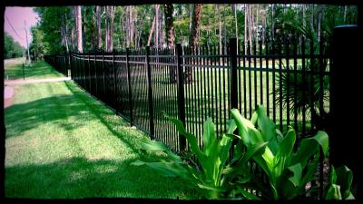 aluminum fence naples, aluminum fence