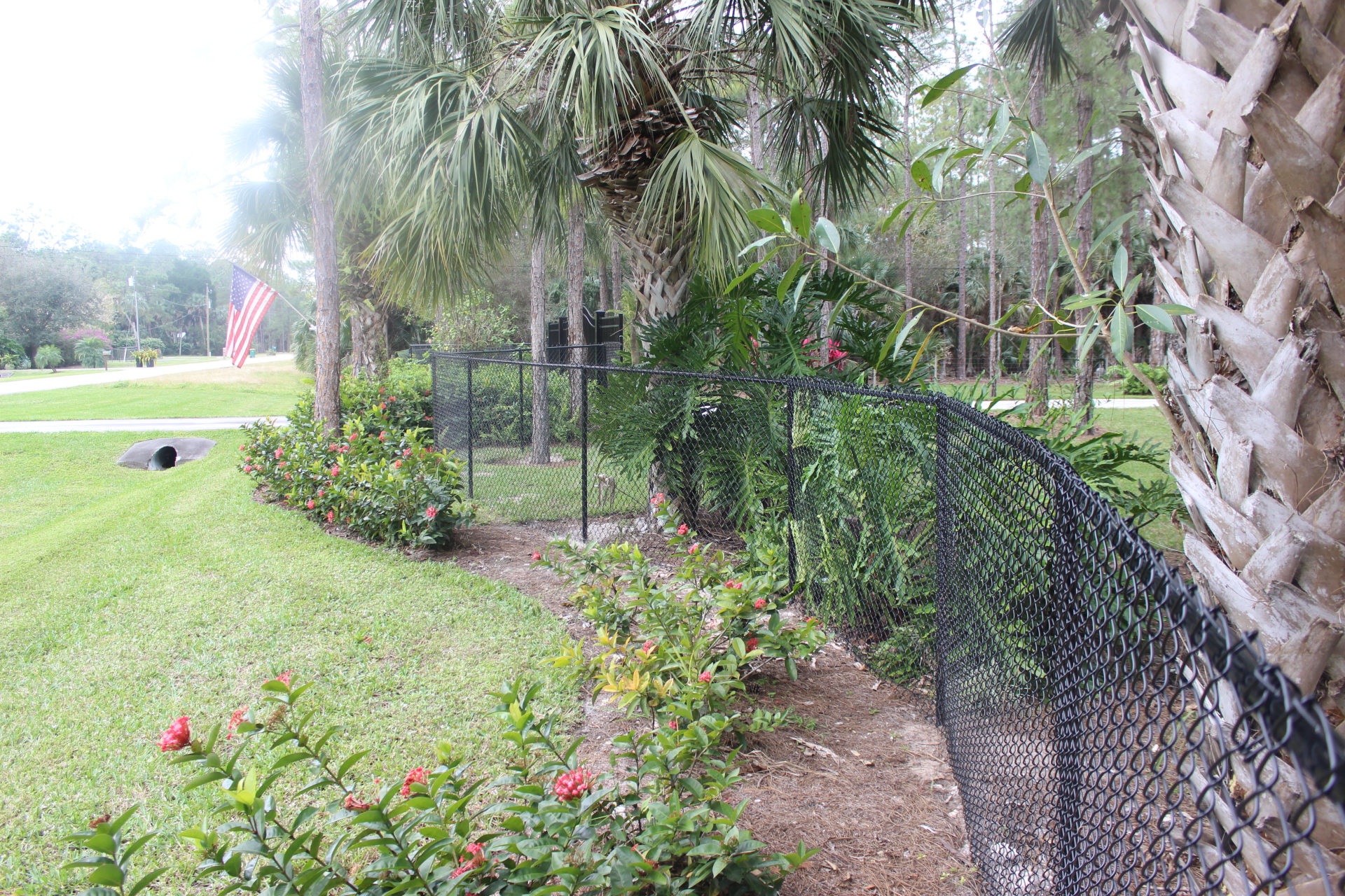 naples florida chain link fence   naples chain link installation