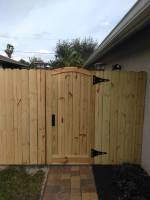 custom gate naples | Naples fence contractor | naples wood fence