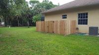 custom wood fence naples   naples fence contractor   custom wood fence   Rapp fence