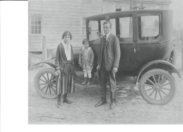 Principal J. Stevens and Family circa 1907-1912