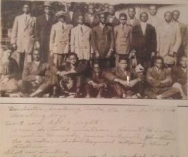 Students Liiving in Boy's Dorm 1913-1914
