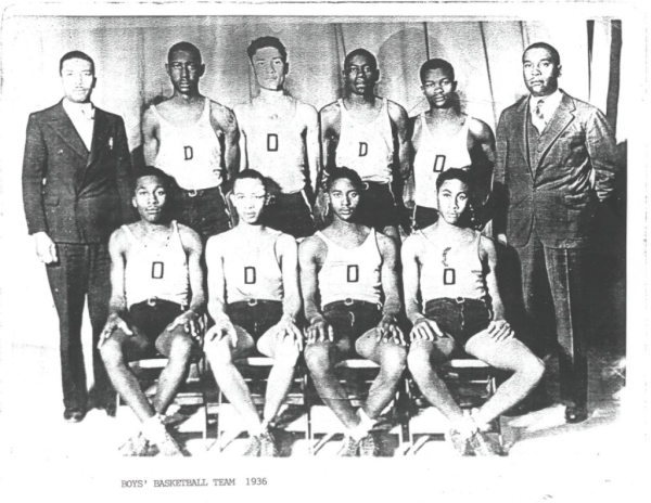 Boy's Basketball Team 1936
