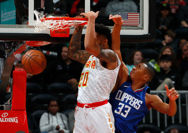 John Collins is part a very talented young core that the Hawks plan to build around.