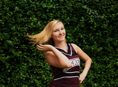 Cheer portrait 3