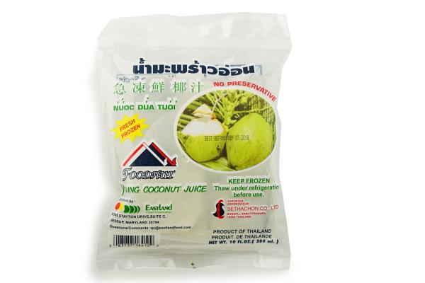 Coconut juice bag