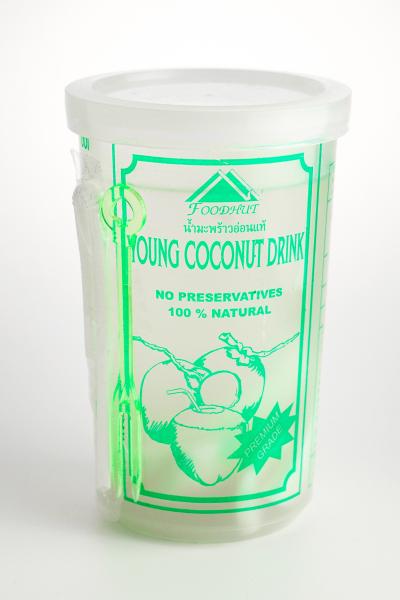 Coconut juice cup