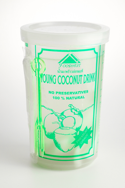 Coconut juice cup