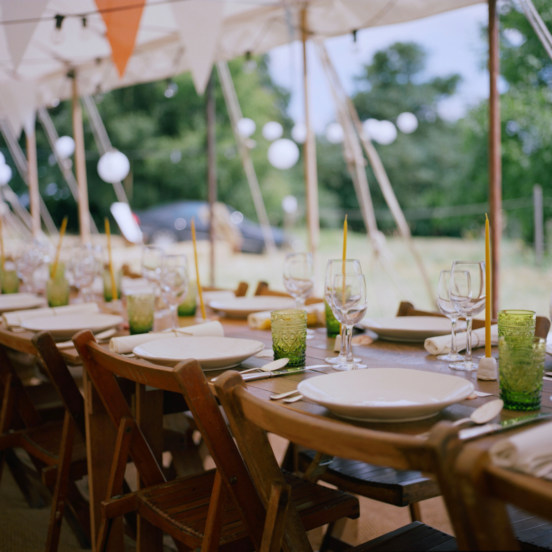 Look at these stunning photographs we've just received from an enchanting summer wedding we supplied our tables and chairs for... Thanks Katie! And these shots are taken on film by the talented Jonathan Cherry WOW! Thanks again guys, What a beautiful wedding #rustic #wedding #english #festival #style #countryside #meadow #vintagewedding #vintage #handmade #bespoke #natural #naturalwedding #wooden #furniturehire #hire #tables #chairs #woodentables #bars #mobilebar #trestletables #woodtables #benches #summerwedding #countrysidewedding