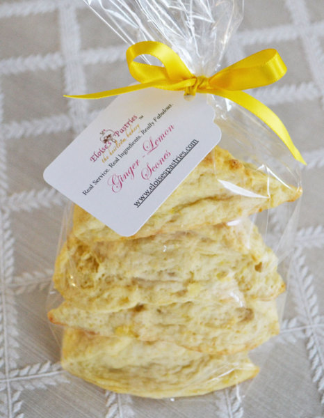 Ginger Lemon Scones