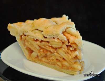 apple pie serving
