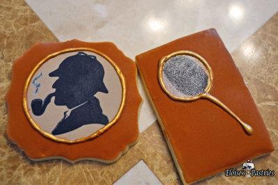 Sherlock Holmes Cookies