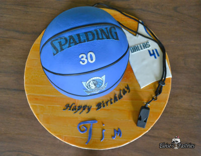 Dallas Mavericks Birthday cake