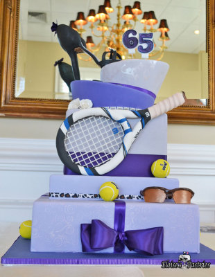 Birthday Celebration - Tennis Cake