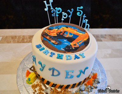 Boys birthday cake