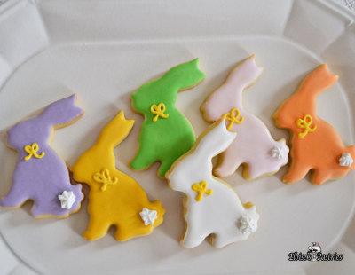 Minnie Bunny Cookies