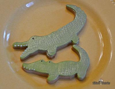 Alligator Cookies