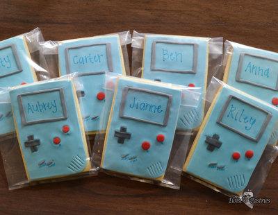 Nintendo Cookies
