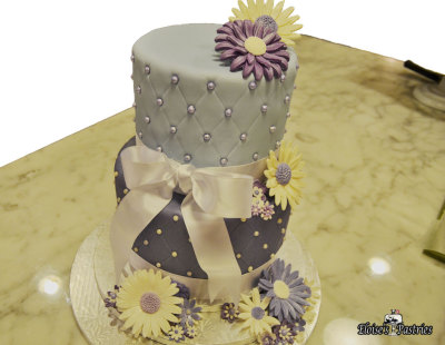 Purple Lover's Birthday Cake