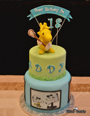 Woodstock Birthday Cake