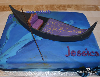 gondola cake