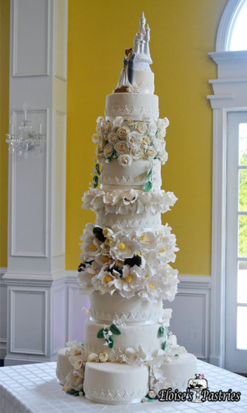 Cinderella's Castle Wedding Cake