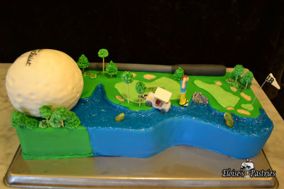 28th Hole Golf Course Groom's Cake