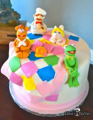 The Muppets Baby Shower Cake