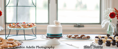 mini cake and dessert bar