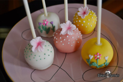 Tea Party Cake Pops