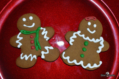 Gingerbread Men & Ladies