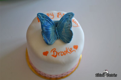 Butterfly Birthday Cakelette