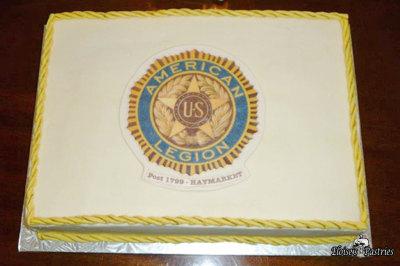 American Legion Celebration Cake