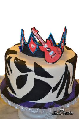 Rockin' Princess Cake