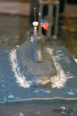 USS Submarine Groom's Cake