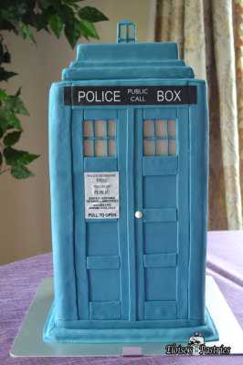 Dr Who Taurus Groom's Cake