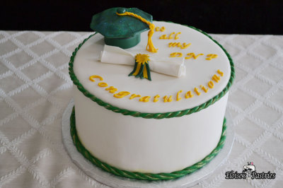 Nursing School Graduation Cake