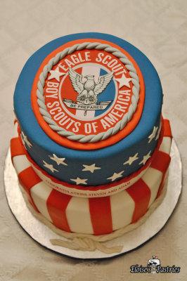 Eagle Scout - Boy Scout Cake