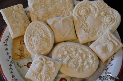 designer cookies, springerles, molded cookies