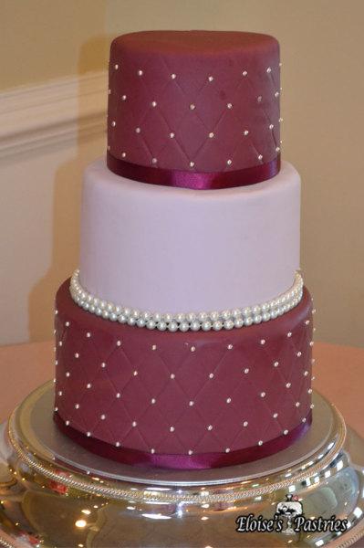 pink wedding cake, blush wedding cake, simple modern wedding cake