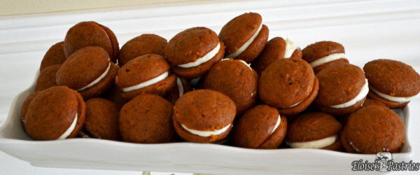Mini Pumpkin Whoopee Pies