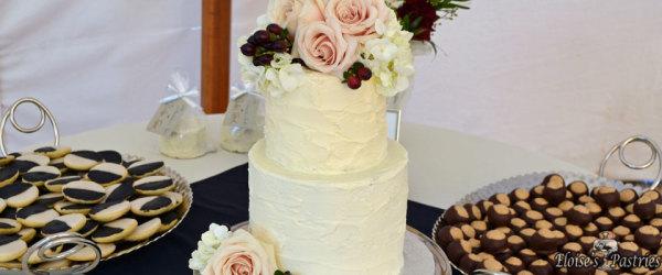 Intimate Wedding Cake & Dessert Bar