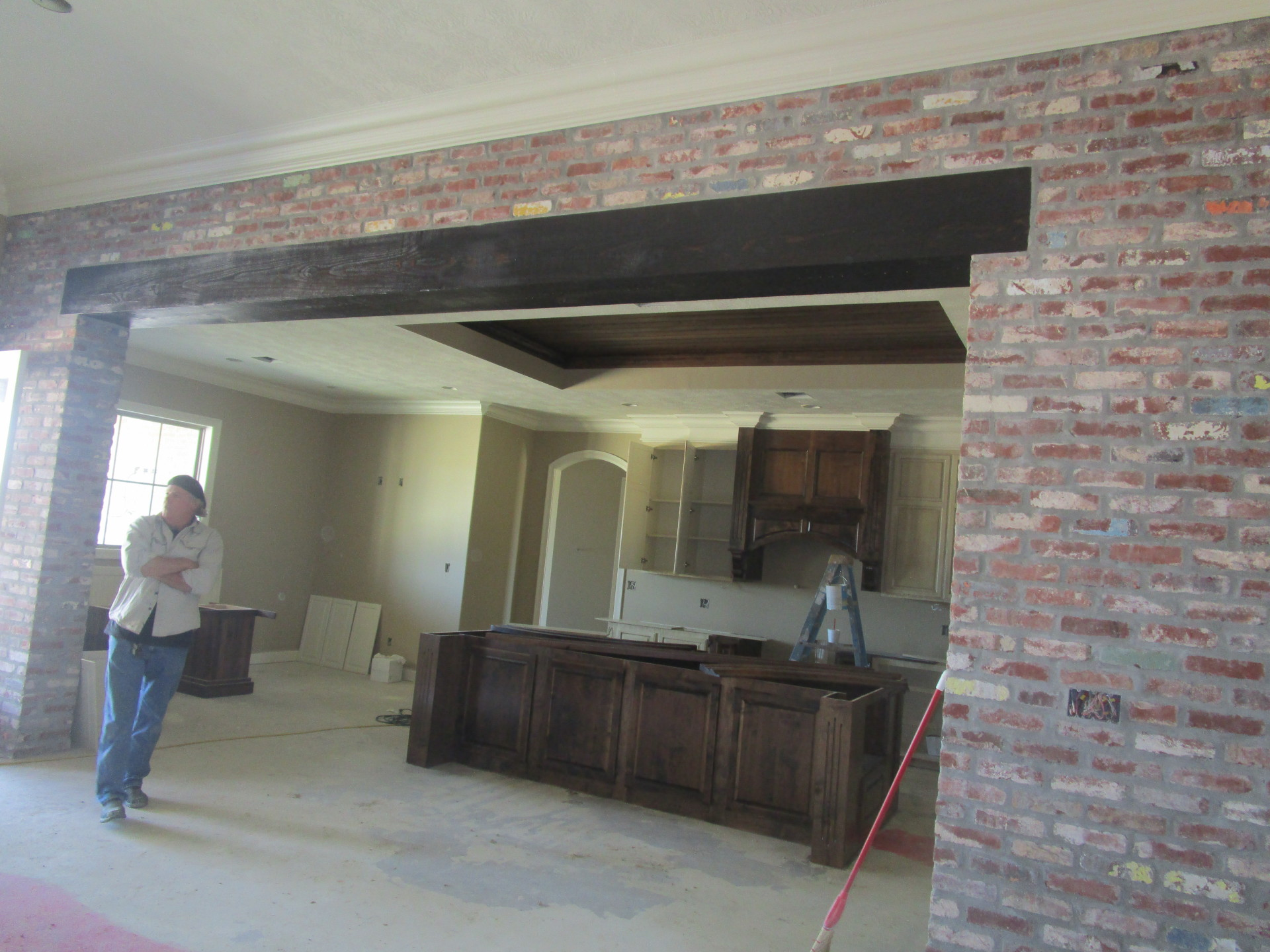 Interior Brickwork & Exposed Beam