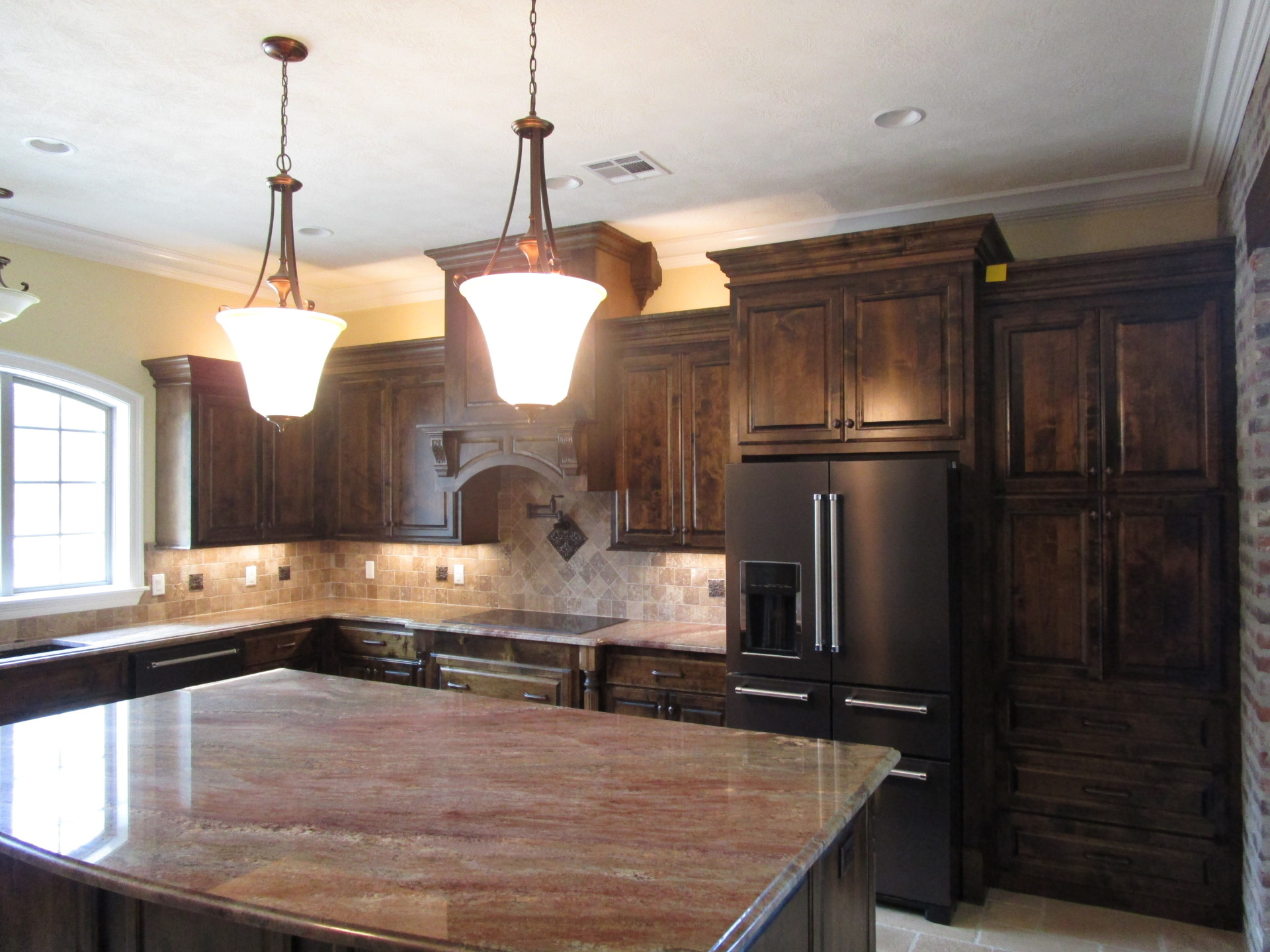 Custom Kitchen with Granite