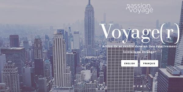 +Rédaction du site Web de Passion.Voyage