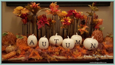 Autumn Entry Table