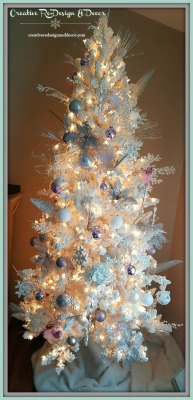 White and Light Pink Tree
