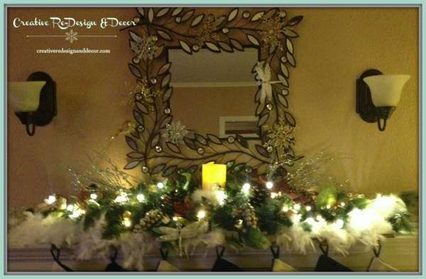 Winter Fireplace Night