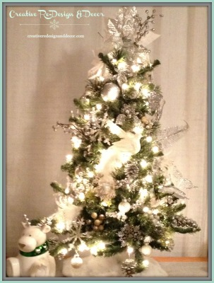 White and Silver Tree